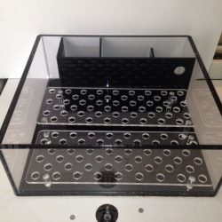 Buy Best 18x18x6 Rimless All In One Frag Acrylic Frag Tank Aquarium (Racks included)