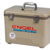 Buy Best 19qt Engel Cooler Dry Box UC19 Tan 19Quart Shoulder Strap and TRAY Included FREE