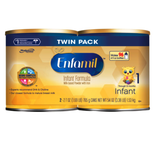 Buy Best 2 Cans Enfamil Premium Infant Baby Formula, 54 oz.Total, 08/01/2018