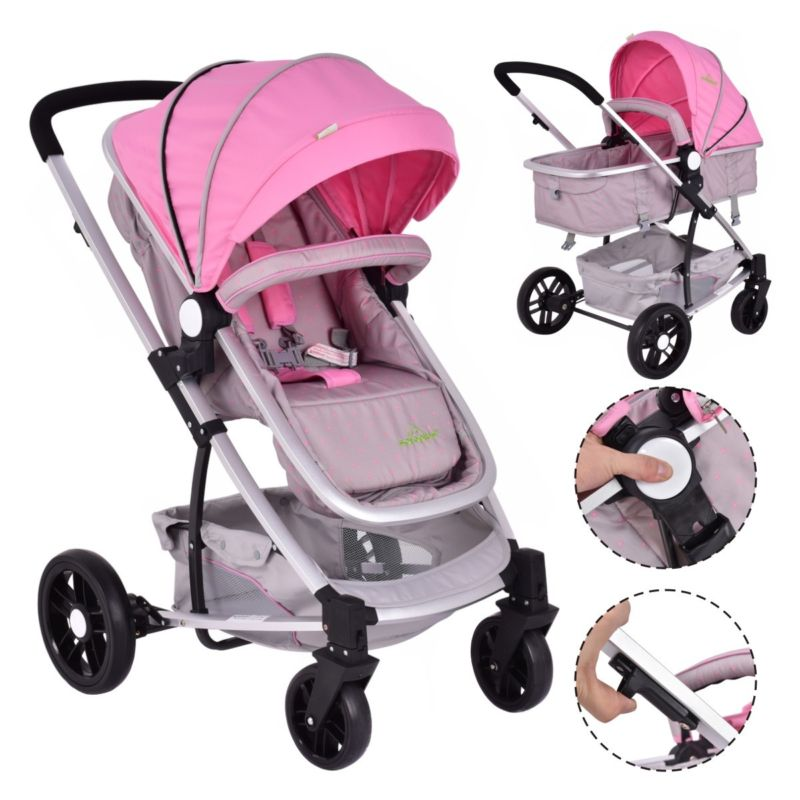 Buy Cheap 2 In1 Foldable Baby Stroller Kids Travel Newborn ...