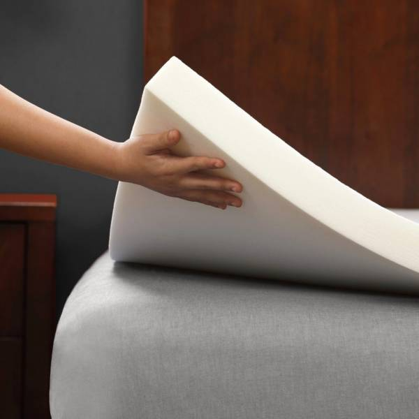"""Buy Best 2"""" Memory Foam Mattress Topper & Bed Pad by PharMeDoc - All Sizes Available"""