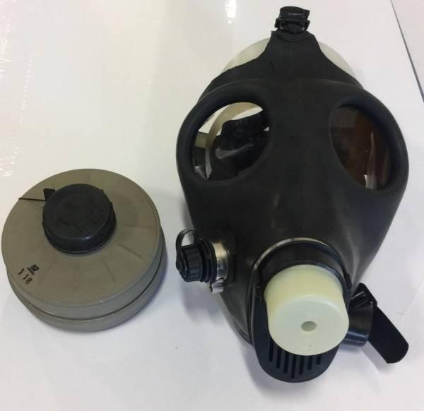 2 PACK Israeli Gas Mask Genuine Military Sealed NATO Filter Full NBC Protection