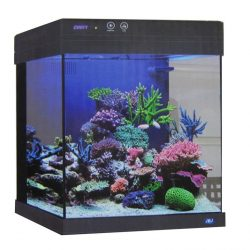 20 Gallon Cubey Black Midsize Fish Tank All in One Aquarium New by JBJ