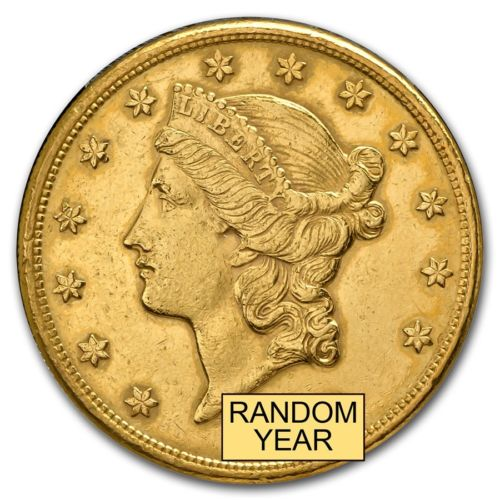 Buy Best $20 Liberty Gold Double Eagle Coin Cleaned - SKU #151600