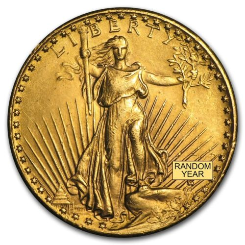 Buy Cheap 20 Saint Gaudens Gold Double Eagle Cleaned