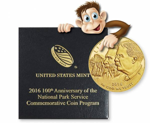 Buy Best 2016-W 100th Anniversary $5 (1/4 oz.) Proof Gold National Park Coin