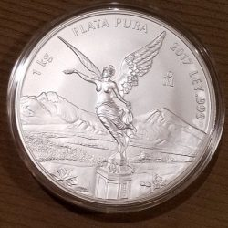 Buy Best 2017 Mexican Silver Libertad Kilo Bu( RARE!!! only 200 minted!)