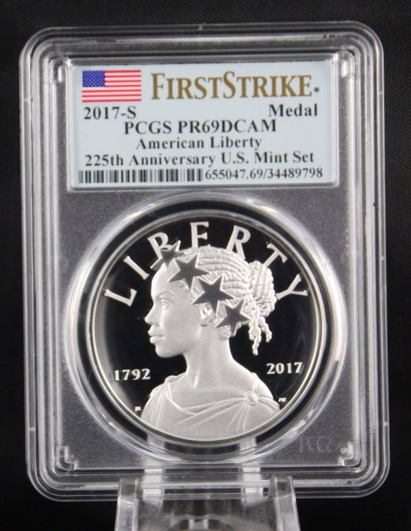 Buy Best 2017 S American Liberty 225th Anniversary Silver Medal  PCGS PR69 First Strike