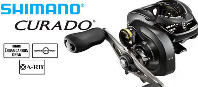Buy Best 2017 Shimano Curado K CU200KHG 7.4:1 Low Profile Casting Reel