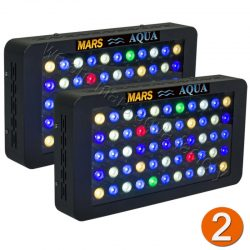 Buy Best 2PCS MarsAqua Dimmable 165W LED Aquarium Light Full Spectrum Reef Coral Marine