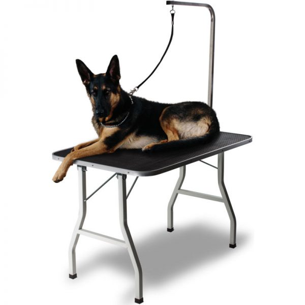 "36"" Large Pet Grooming Foldable Table Dog Cat Adjustable ARM Noose Groom"
