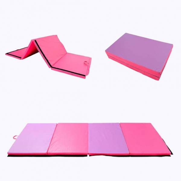 "Buy Best 4'x10'x2"" Thick Folding Gymnastics Exercise Mat Aerobics Stretching Yoga Mats"