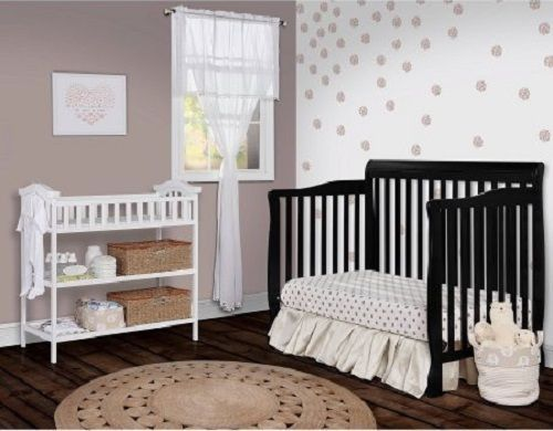 Buy Best 5 -in-1 Convertible Crib Nursery Baby Bed Toddler Full Size Children Bed
