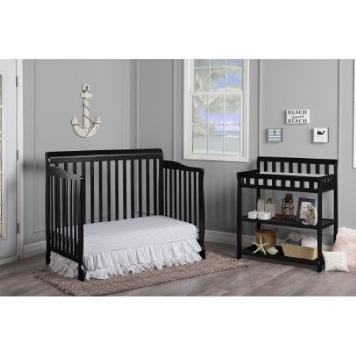 5 Cool Cribs That Convert To Full Beds: Buy Cheap 5 In 1 Convertible Crib Nursery Toddler Baby Bed