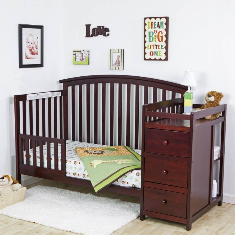 Buy Cheap 5 in 1 Side Convertible Crib Changer Nursery ...