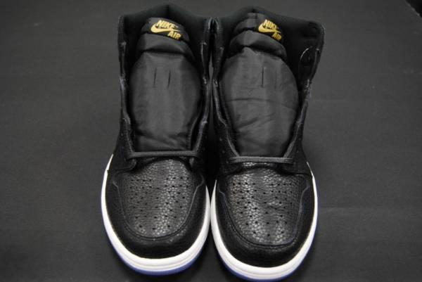 Buy Best [555088 031] NEW MEN'S AIR JORDAN 1 RETRO HIGH OG ALL STAR LA BLACK GOLD JO1302