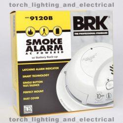 Buy Best 6-PACK BRK 9120B First Alert Smoke Alarm Detector Battery Backup 120V HARDWIRED