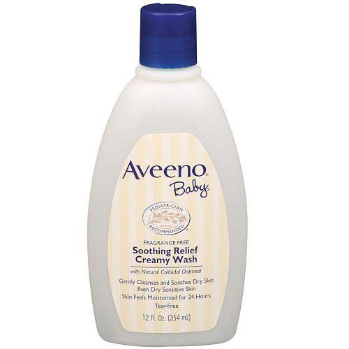 Buy Best 6 Pack - AVEENO Baby Fragrance Free Soothing Relief Creamy Wash 12 oz Each