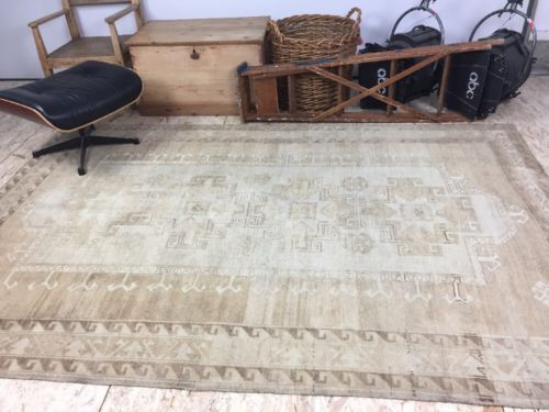 Buy Best 6 X 9 Carpet Turkish Oushak Natura Colors Handmade 1960's Vintage French Country