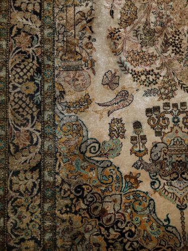 Buy Best 63'' x 42'' HAND KNOTTED PERSIAN NAIN RUG IRAN HANDMADE ANTIQUE RUGS WOOL SILK