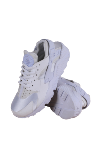 634835-108 NIKE WHITE/WHITE WOMEN AIR HUARACHE RUN