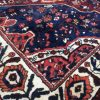 7x11 PERSIAN WOOL RUG BLUE HERIZ HAND KNOTTED HANDMADE ORIENTAL RUGS 8x11 8x10