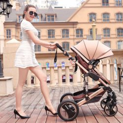 8 in 1 Pram Pushchair Newborn Baby Stroller Buggy Carriage Infant Travel Car US