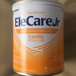 9 cans! Vanilla Elecare jr- May/June 2018!