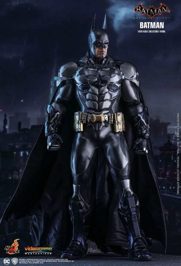 "ARKHAM KNIGHT Hot Toys 12"" Movie Figure ~902934/VGM26 BATMAN DC Comics"
