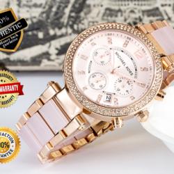 Buy Best AUTHENTIC Michael Kors Women's Parker MK5896 Rose Gold Ladies' Watch Retail Box