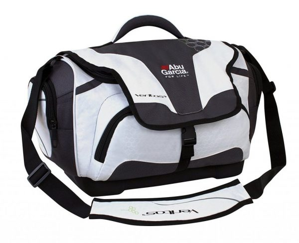 Buy Best Abu Garcia Weather Tackle Bag, Large, White/Black **Free Shipping Available**