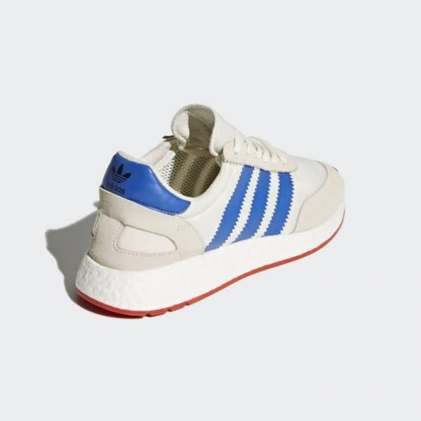 Buy Best Adidas Originals Men's INIKI/I-5923  RUNNER Shoes Off White/Blue/Red  BB2093 b