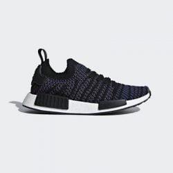 Adidas Originals Nmd R1 Stlt PK Primeknit W Women Boost Black Pink Blue AC8326