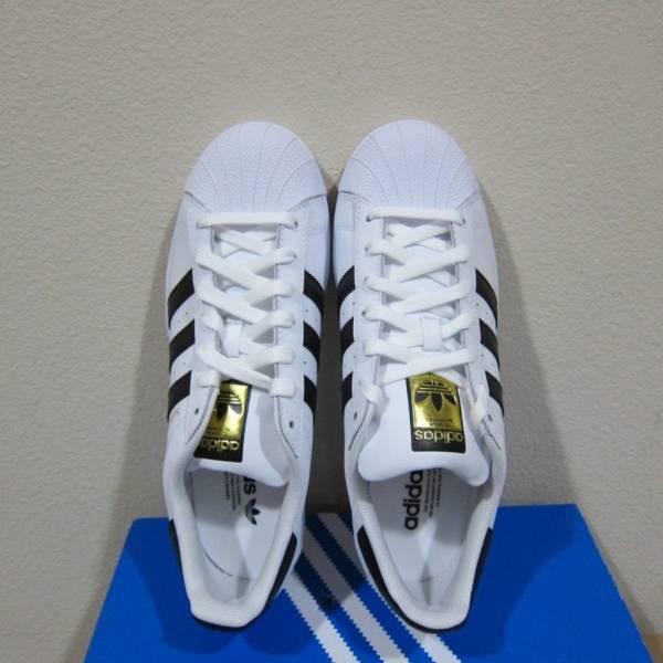 Buy Best Adidas Originals Superstar Shoes Men's White/Black/Gold Sneakers