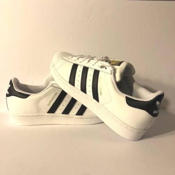 Adidas Womens Superstar White Black C77153