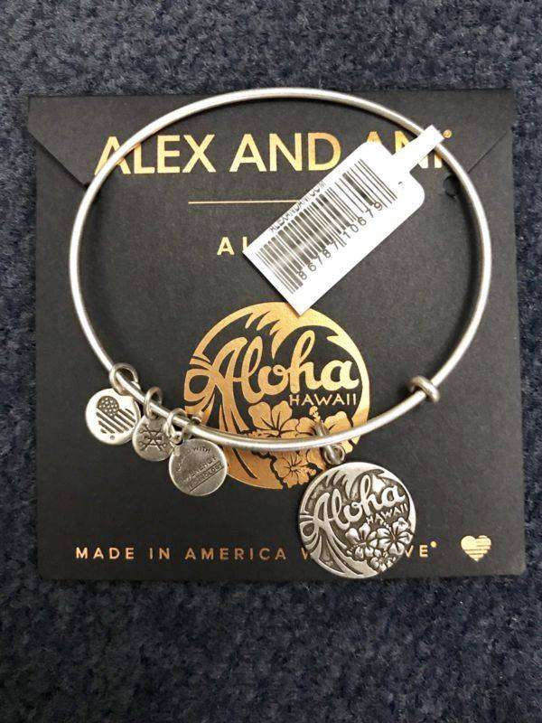 Alex and Ani Aloha Bangle Bracelet Authentic Hawaii Exclusive