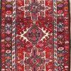 "Alluring Geometric 2x4 Wool Gharajeh Persian Oriental Area Rug 3' 8"" x 2' 3"""