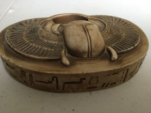 Buy Best Amazing Ancient Egyptian Scarab For Luck,Hieroglyphics Antique Handmade in Egypt