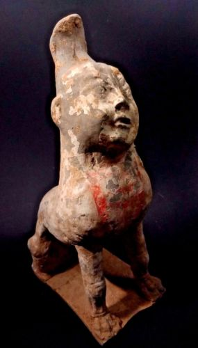 Buy Best Ancient Tomb Guardian Figure - China - Han Dynasty - 206 BC to 220 AD