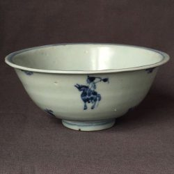 Antique 17th C Chinese Porcelain Bowl Ming Dynasty