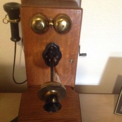 Buy Best Antique Oak Telephone By Kellogg November 26/1901