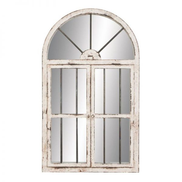 Buy Best Aspire Home Accents Arched Window Wall Mirror - 25W x 42H in., White