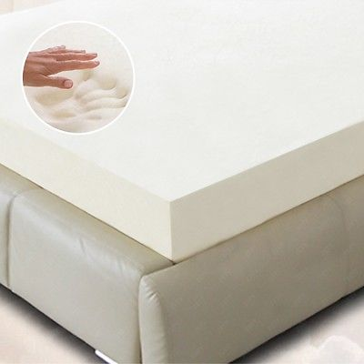 "BN 5.5 COMFORT 2"" 3"" 4"" TWIN, FULL, QUEEN, KING MEMORY FOAM MATTRESS TOPPER"