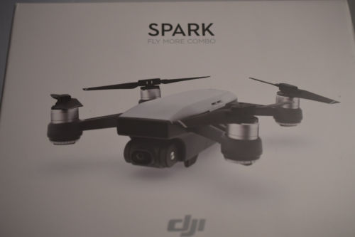 BRAND NEW DJI Spark Fly More Combo (Sunrise Yellow) Quadcopter Drone 1080P Video