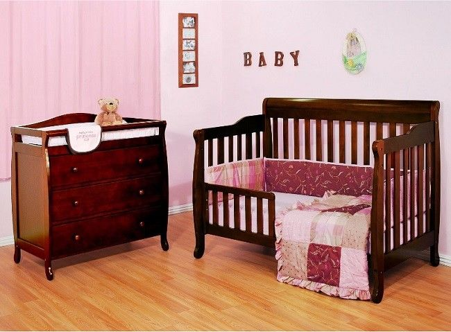 Buy Cheap Baby Crib With Changing Table Convertible 4 In 1