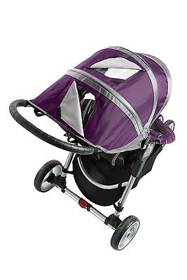 Baby Jogger 2016 City Mini Single Stroller - Purple - New! Free Shipping!
