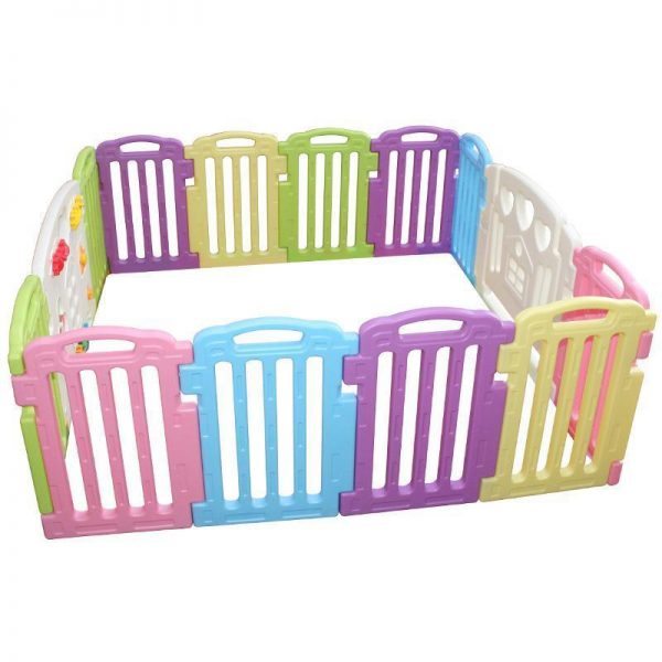 Buy Best Baby Playpen Kids 14 Panel Safety Play Center Yard Home Indoor Outdoor Pen 122