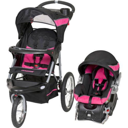 Buy Best Baby Trend Expedition Jogger Travel System Bubblegum