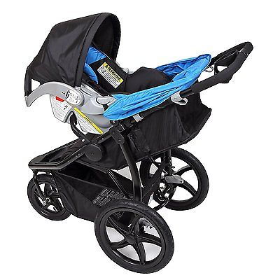 Buy Best Baby Trend Stealth Single Jogger and Car Seat Travel System, Seaport | TJ30509