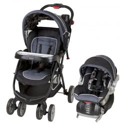 BabyTrend Supernova Spin Infant Travel System Baby Stroller, Car Seat, and Base